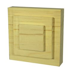 Step Architrave Blocks 95x95x30