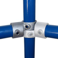 Swivel Short T for 27mm Glavanised Pipe