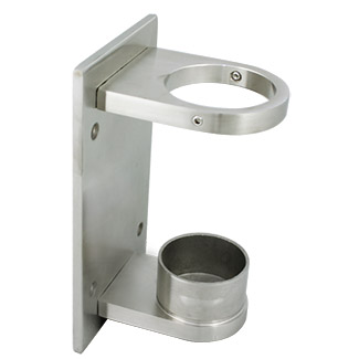 Side Mount Wall Bracket for 38.1 Round Satin Tube