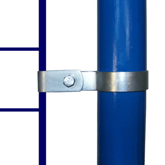 Single Mesh Panel Clip for 60mm Galvanised Pipe