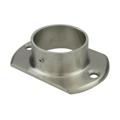 Oblong Base Plate for 50.8 Round Satin Tube