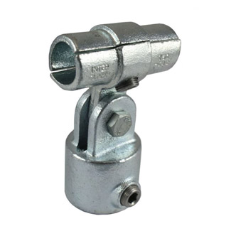 Disability Adj. Rail Joiner Connector for 48mm Galv Pipe