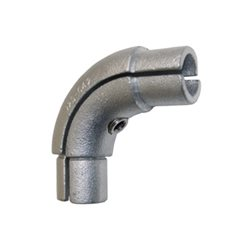 90 degree Disability Elbow for 42mm Galvanised Pipe