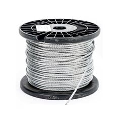 16.0mm Wire Cable Rope - 7x19 - 305 metre Reel