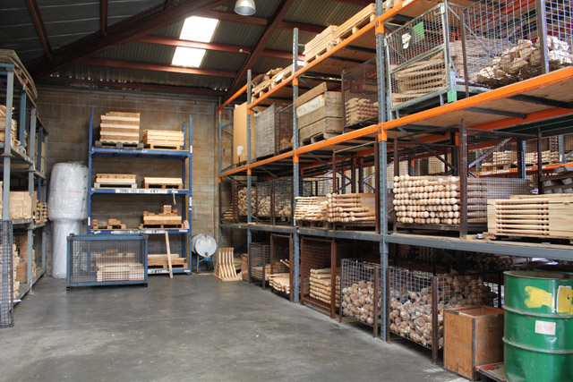 Treated products in our warehouse