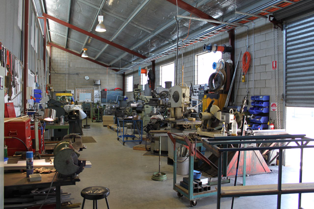 Our toolroom ... how many metal lathes can we possibly need !