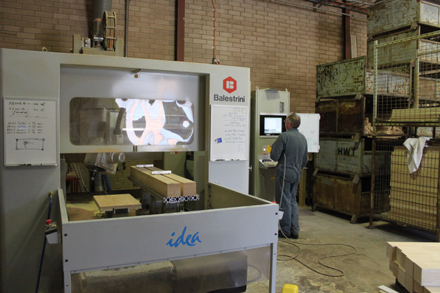 One of our 5-axis CNC machining centres that we own.