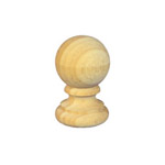 Ball Fence Post Capitals 65 diameter