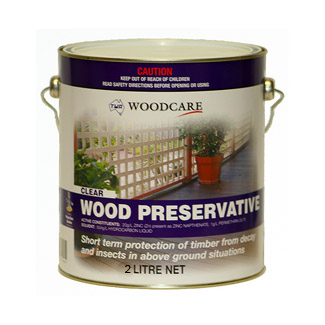 Timber Treatment Wood Preservative - 2 litre Can