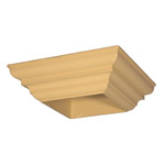 Large Post Capital Moulds for 115x115 Post