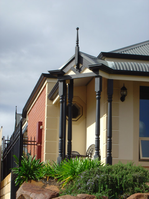 Federation Round Verandah Posts 2700x112sq