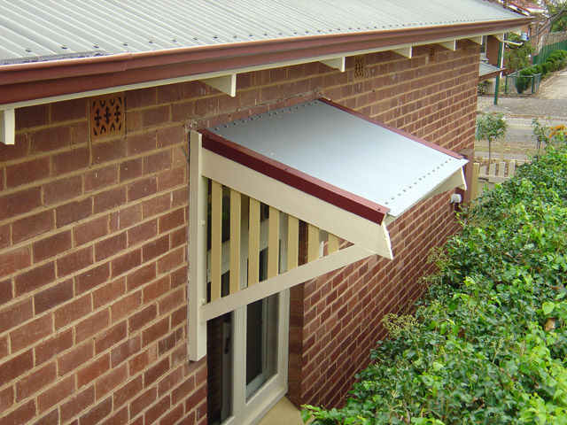 Treated Window Canopys Timber Awnings Ah002r