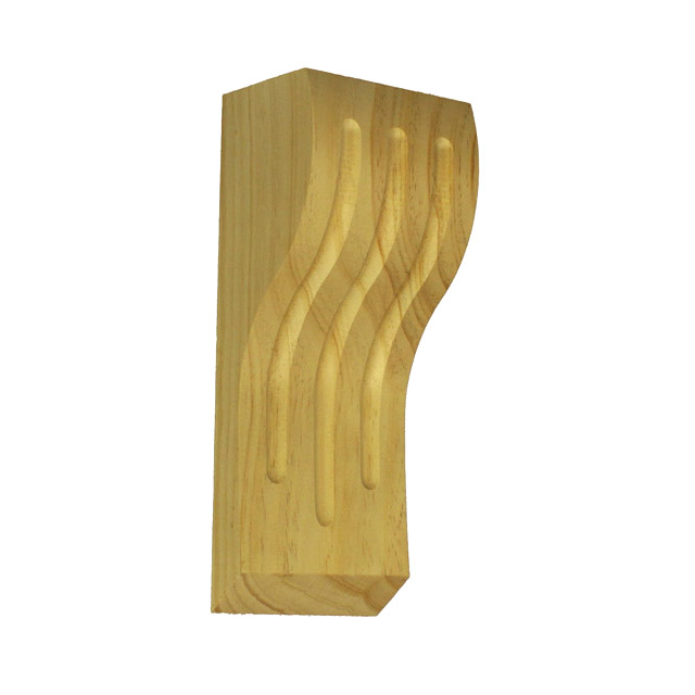 220x90x65 Fluted 90 Timber Corbels