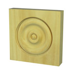 Round Architrave Blocks 95x95x22