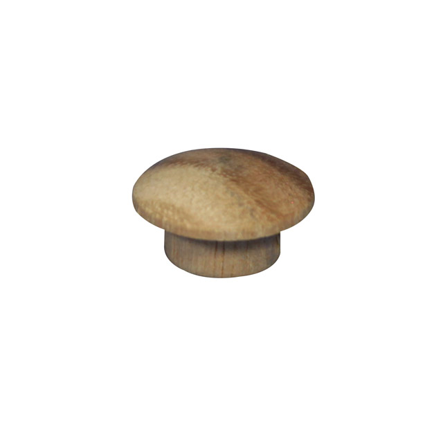 9.5mm (3/8 inch) Timber Cover Buttons (Vic Ash)