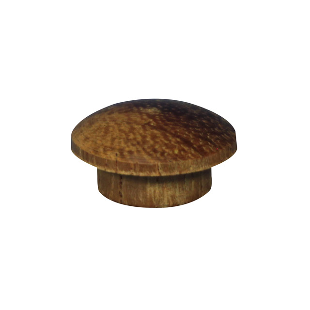 12.7mm (1/2 inch) Timber Cover Buttons (Kwila)
