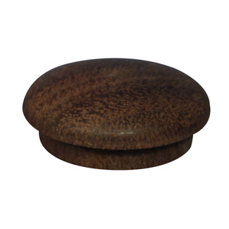 25.4mm (1 inch) Timber Cover Buttons (Jarrah)