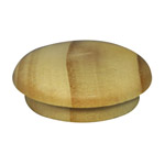 25.4mm (1 inch) Timber Cover Buttons (Pine)