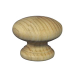 40mm Wooden Knob Handles (Vic Ash)