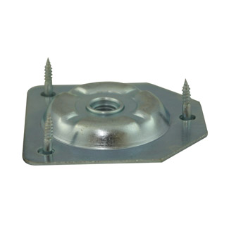 Vertical Leg Plate for 5/16 inch Lag Screws