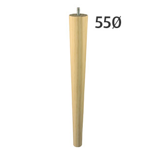 350mm Regular-Line Turned Furniture Legs (Pine)