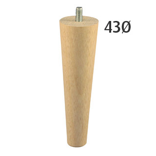 150mm Slim-Line Turned Furniture Legs (Vic Ash)