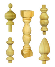 Finials and Spindles