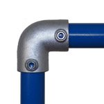 90 degree Elbow for 34mm Galvanised Pipe
