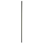 16mm square Plain Metal Balusters
