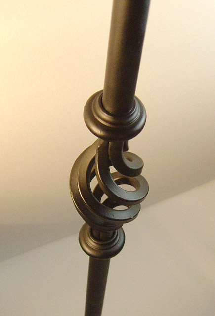 16mm round Single Cage Metal Balusters