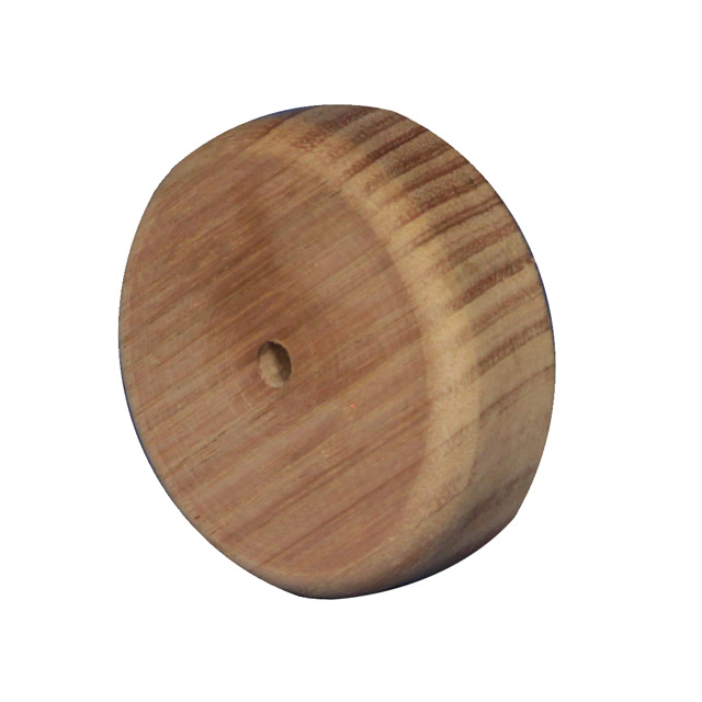 Wall Rosette for Stair Handrail Brackets (Vic Ash)