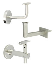 Handrail Brackets - Wall Mounted - 316 Stainless Steel