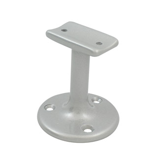 60mm Upright Handrail Brackets (Satin)