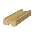 Base Rail with Rebate (Pine)