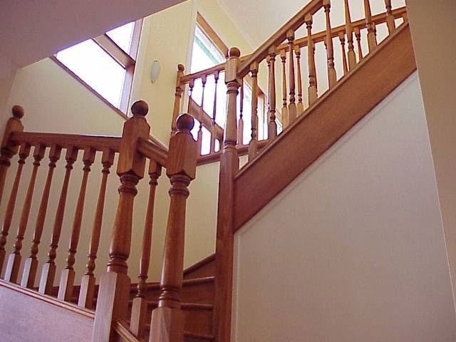 Turned Std Stair Posts 880x90sq (Vic Ash)