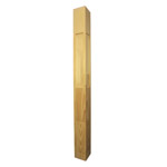 Prestige Plain Stair Posts with Recess 1500x115sq (Pine)