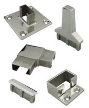 Rectangle Stainless Steel Tube Fittings