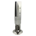Square Stainless Steel Glass Spigot - Core Drilled