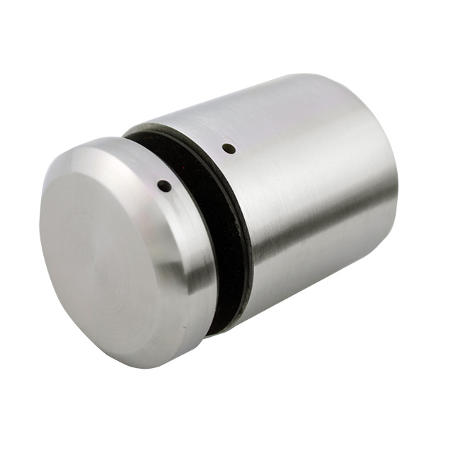 50mm diam Glass Standoff - 50mm Spacer - Satin