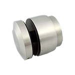 50mm diameter Adjustable Glass Standoff - Satin