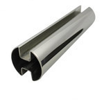 Double Slot Rnd Tube 50.8 diam (316 Mirror) - 5.8 metre Length
