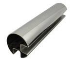 90 deg Slot Rnd Tube 50.8 diam (316 Mirror) - 2.9 metre Length