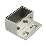 Wall Flange for 25x50 Rectangular Mirror Tube