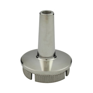 Rail Converter for 50.8 Round Satin Tube