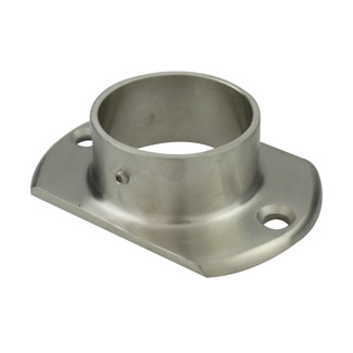 Oblong Base Plate for 38.1 Round Satin Tube