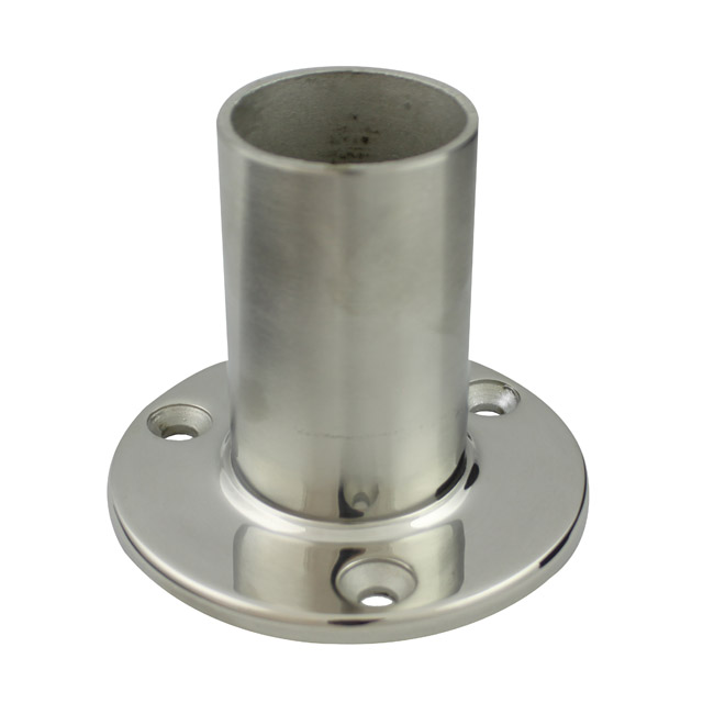 Stainless Steel Fittings Round Stainless Balustrade