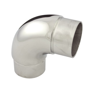 90 degree Radiused Bend for 50.8 Round Mirror Tube