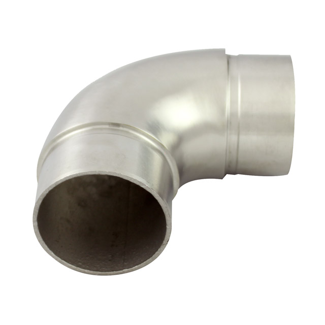 90 degree Radiused Bend for 50.8 Round Satin Tube