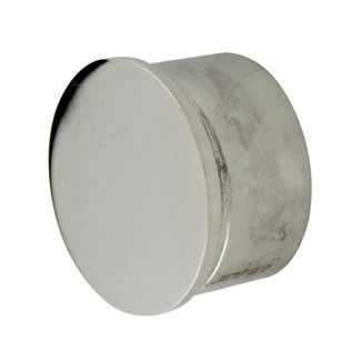Flat End Cap for 50.8 Round Mirror Tube
