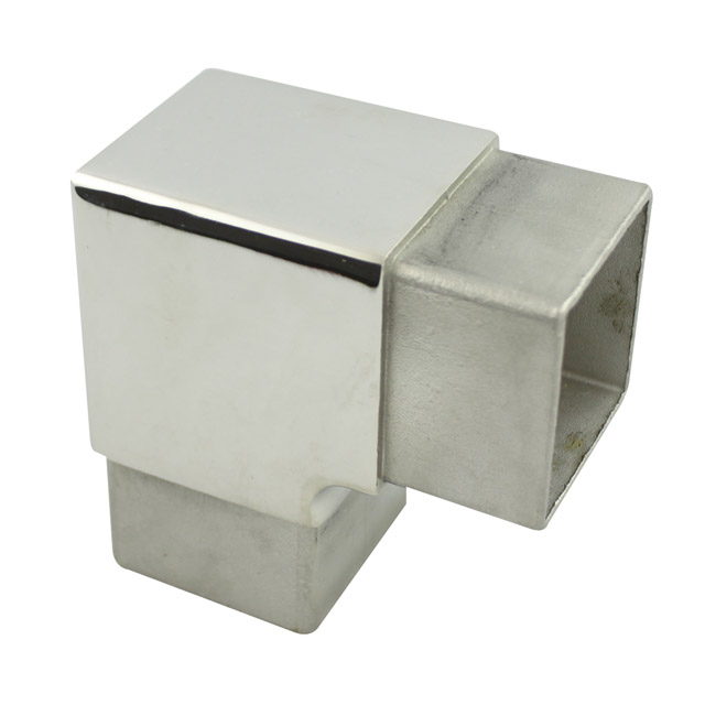 Stainless steel fittings square balustrade